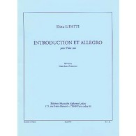 LIPATTI D. INTRODUCTION ALLEGRO FLUTE SOLO