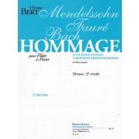 BERT H. HOMMAGE D'UN JEUNE FLUTISTE VOL 2 FLUTE