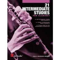 CRASBORN-MOOREN P. 21 INTERMEDIATE STUDIES CLARINETTE