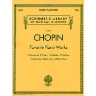 CHOPIN F. FAVORITE PIANO WORKS