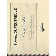 DUFEUTRELLE S. TEMPS VARIABLE FLUTES