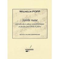 POPP  W. SOIREE RUSSE FLUTE