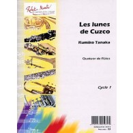 TANAKA K. LES LUNES DE CUZCO FLUTES