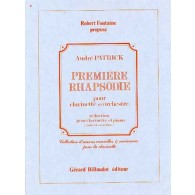 PATRICK A. PREMIERE RHAPSODIE CLARINETTE