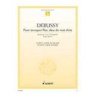 DEBUSSY C. POUR INVOQUER PAN FLUTE