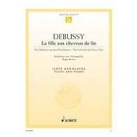 DEBUSSY C. LA FILLE AUX CHEVEUX DE LIN FLUTE