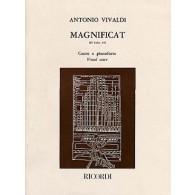 VIVALDI A. MAGNIFICAT RV 610A CHANT
