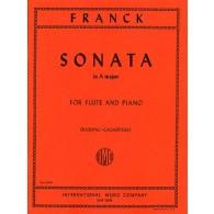 FRANCK C. SONATE LA MAJEUR FLUTE