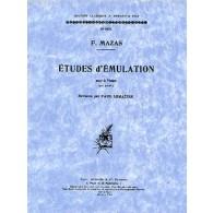 MAZAS ETUDES D'EMULATION OP 36 N°2 VIOLON