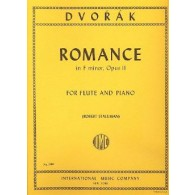 DVORAK A. ROMANCE OP 11 FLUTE
