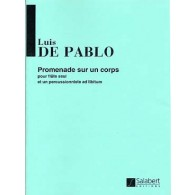 DE PABLO L. PROMENADE SUR UN CORPS FLUTE