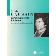 GAUSSIN A. LA CHEVELURE DE BERENICE FLUTE SOLO