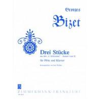 BIZET G. STUCKE AUS DEN L'ARLESIENNE FLUTE