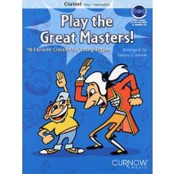 PLAY THE GREAT MASTERS CLARINETTE