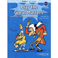 PLAY THE GREAT MASTERS TROMPETTE