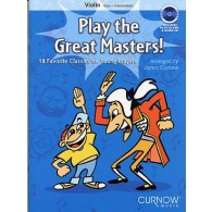 PLAY THE GREAT MASTERS VIOLON