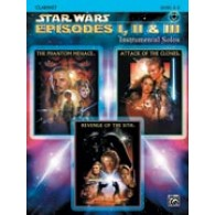 STAR WARS EPISODES I, II & III CLARINETTE