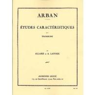 ARBAN ETUDES CARACTERISTIQUES TROMBONE