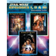 STAR WARS EPISODES I, II & III VIOLON