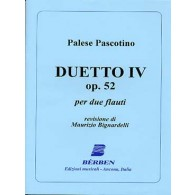 PASCOTINO P. DUETTO IV OP 52 FLUTES
