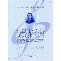 KUHLAU F. GRANDS DUOS OP 87 N°3  FLUTES