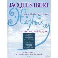 IBERT J. HISTOIRES FLUTE