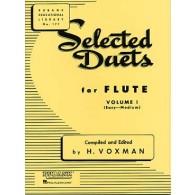 WOXMAN H. SELECTED DUETS VOL 1 FLUTES