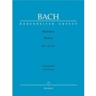 BACH J.S. MOTETS CHANT
