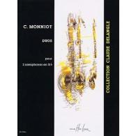 MONNIOT C. DUOS 2 SAXOPHONES SIB