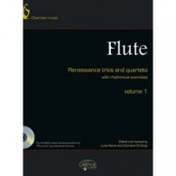 RENAISSANCE TRIOS AND QUARTETS VOL 1 FLUTES