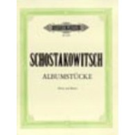 CHOSTAKOVITCH D. ALBUMSTUCKE VIOLON