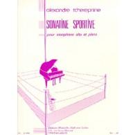 TCHEREPNINE A. SONATINE SPORTIVE SAXO ALTO