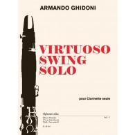 GHIDONI A. VIRTUOSO SWING SOLO CLARINETTE SOLO