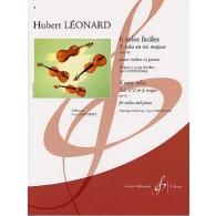 LEONARD H. SOLO OP 41 EN UT MAJEUR VIOLON