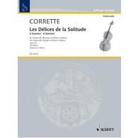 CORRETTE M. LES DELICES DE LA SOLITUDE VOL 2 VIOLONCELLE