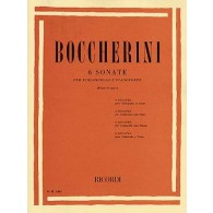BOCCHERINI L. 6 SONATES VIOLONCELLE