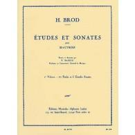 BROD H. ETUDES ET SONATES VOL 2 HAUTBOIS
