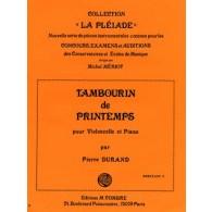 DURAND P. TAMBOURIN DE PRINTEMPS VIOLONCELLE
