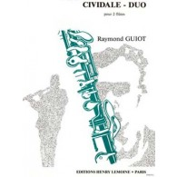 GUIOT R. CIVIDALE - DUO FLUTES