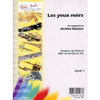 NAULAIS J. LES YEUX NOIRS FLUTES
