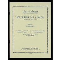 BACH J.S. SIX SUITES CLARINETTE