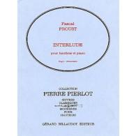 PROUST P. INTERLUDE HAUTBOIS