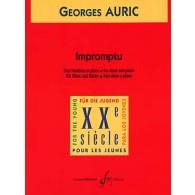 AURIC G. IMPROMPTU HAUTBOIS
