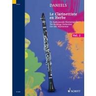 DANEELS F. LE CLARINETTISTE EN HERBE VOL 2