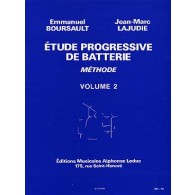 BOURSAULT E./LAJUDIE J.M. METHODE DE BATTERIE VOL 2