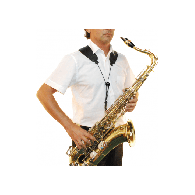 SANGLE SAXOPHONE BG S50SH A-T YOKE BRETELLES