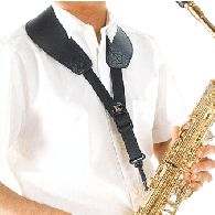 SANGLE SAXOPHONE BG S70SH A-T YOKE CUIR