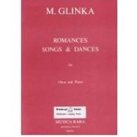 GLINKA M. ROMANCES, SONGS DANCES HAUTBOIS