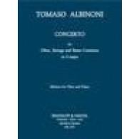ALBINONI T. CONCERTO SOL MAJEUR HAUTBOIS