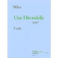 PROUST P. UNE HIRONDELLE FLUTE